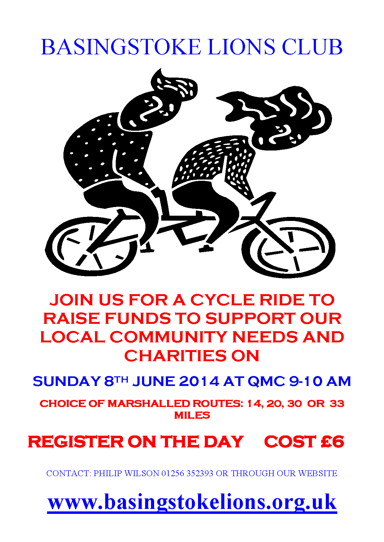 Basingstoke Lions Club - Cycle Ride
