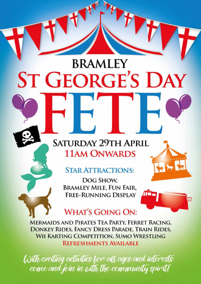 Clift Meadow St Georges Day Fete 29th April 2017